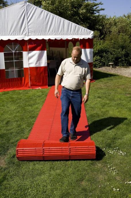 Der rollbare Zeltboden EXPO-roll