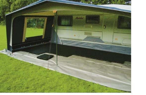 Zeltboden im Vorzelt beim Camping mit EXPO-tent
