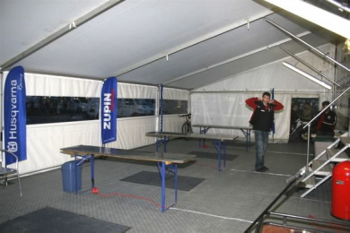 Racing Team mit Bergo PREMIUM in silbergrau